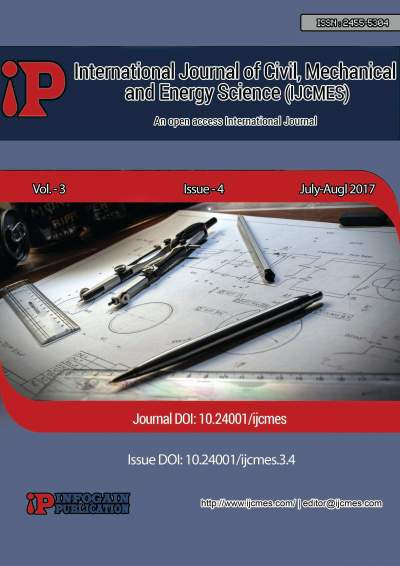 IJCMES cover page